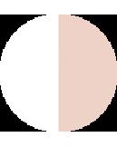 Цвет:: Белый с бежевым
